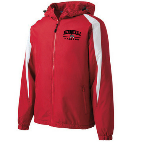 Mechanicville Red Raiders Full-Zip Jacket- Youth & Adult, 2 Colors