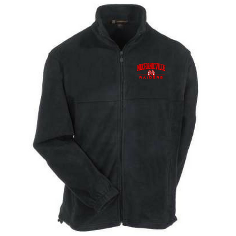 Mechanicville Red Raiders Full Zip Fleece- Ladies & Men's, 3 Colors