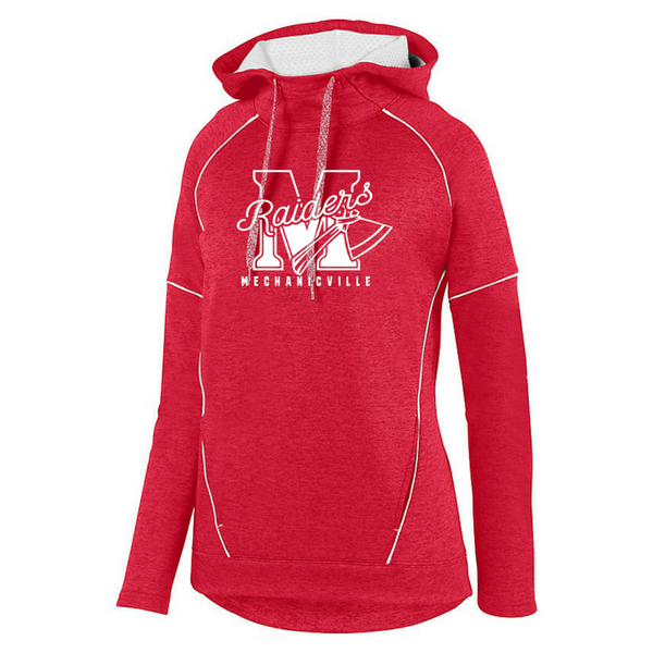 Mechanicville Red Raiders Performance Hoodie- Youth, Ladies & Men's, 3 Colors