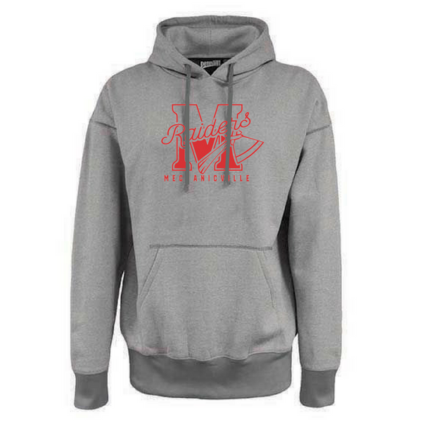 Mechanicville Red Raiders Old School Fleece Hoodie- 2 Colors