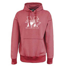 Load image into Gallery viewer, Mechanicville Red Raiders Old School Fleece Hoodie- 2 Colors