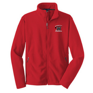 Mechanicville Red Raiders Full Zip Fleece- Youth, Ladies, & Men's, 3 Colors