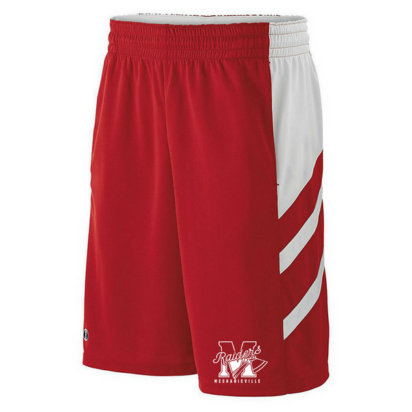 Mechanicville Red Raiders Shorts- Youth & Adult, 3 Colors