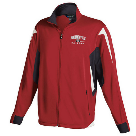 Mechanicville Red Raiders Warm Up Jacket- Youth, Ladies & Men's, 2 Colors