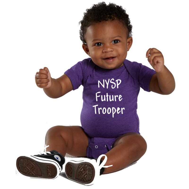 NYS Troopers Infant Onesie- 2 Colors, 2 Logo Options