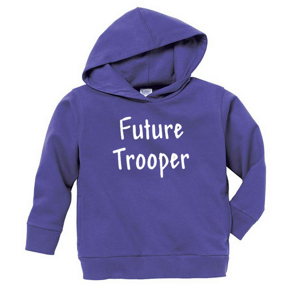 NYS Troopers Toddler Hoodie- 3 Colors, 3 Logo Options