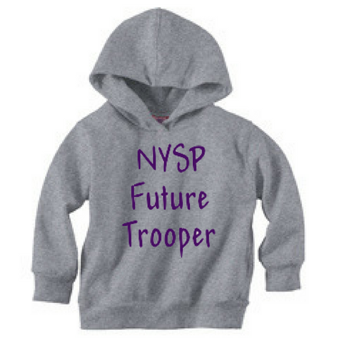 NYS Troopers Toddler Hoodie- 3 Colors, 2 Logo Options