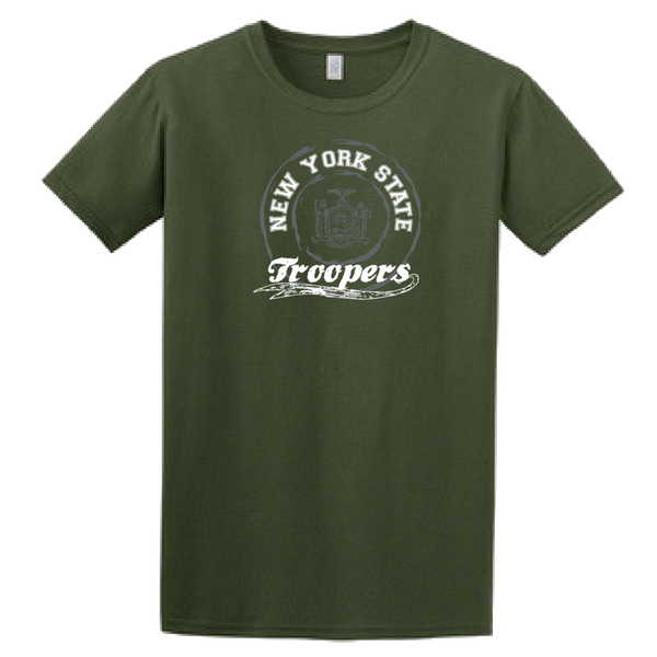 NYS Troopers Softstyle T-shirt- 3 Colors,  3 Logo Options