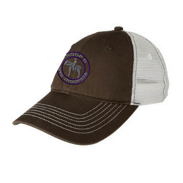 NYS Troopers Mesh Back Unstructured Adjustable Hat- 3 Colors, 3 Logo Options