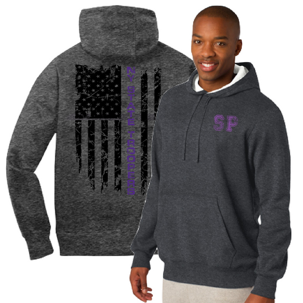 NYS Troopers Hooded Pullover Sweatshirt- 3 Logo Options