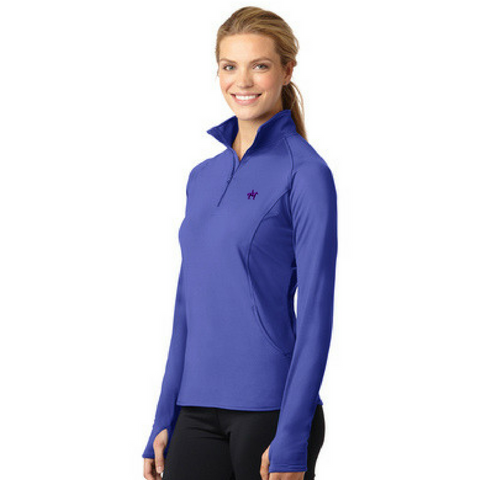 NYS Troopers Ladies 1/4 Zip Performance Pullover- 3 Colors