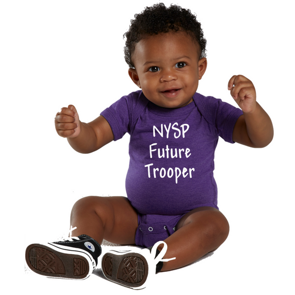 NYS Troopers Infant Onesie- 2 Colors, 3 Logo Options