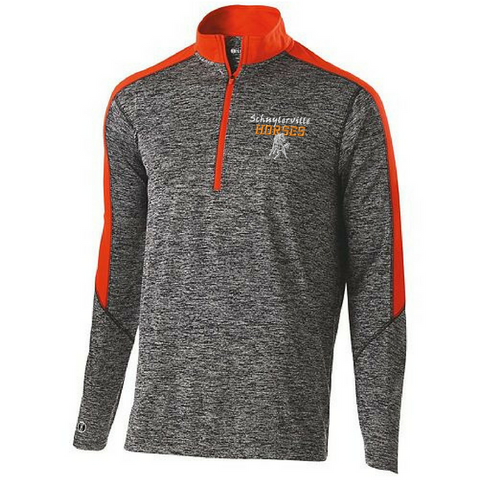 Schuylerville Heather 1/4 Zip Pullover- Youth, Ladies, & Men's, 3 Colors