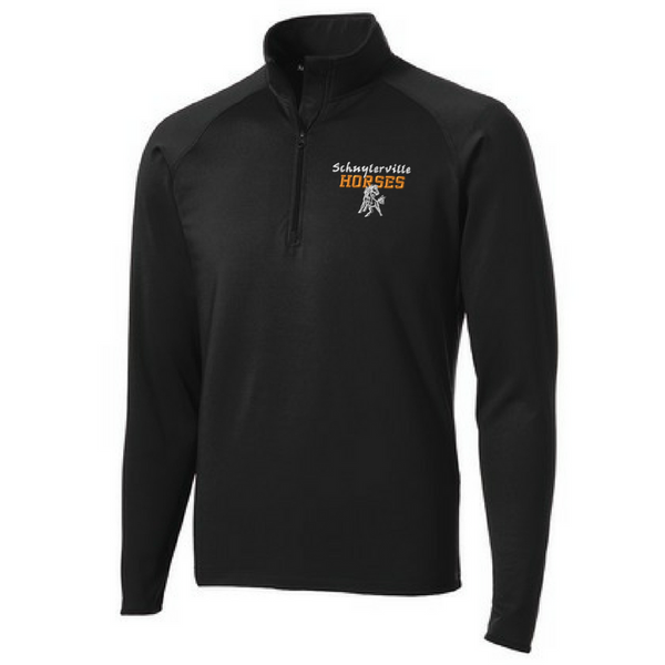 Schuylerville 1/4 Zip Performance Pullover- Ladies & Men's, 3 Colors