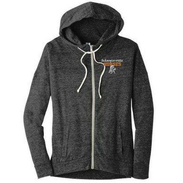 Schuylerville Light Weight Full Zip Hoodie- Ladies & Men's, 2 Colors