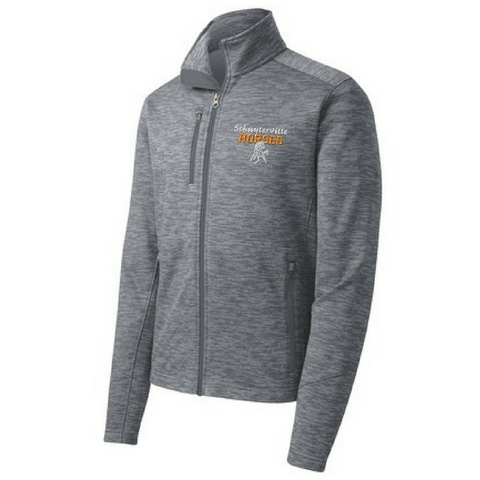 Schuylerville Digi Stripe Fleece Jacket- Ladies & Men's, 2 Colors