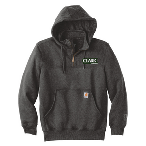 Clark Companies Carhartt Heavyweight 1/4 Zip Mock Sweatshirt- 2 Colors