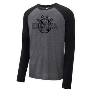 Niskayuna Soccer Tri-Blend Performance Long Sleeve- Ladies & Men's, 3 Colors