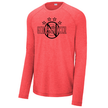 Load image into Gallery viewer, Niskayuna Soccer Tri-Blend Performance Long Sleeve- Ladies & Men's, 3 Colors