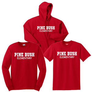 Pine Bush/Guilderland Cotton Bundle- Youth & Adult, 2 Colors, 2 Logo Options