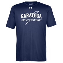Load image into Gallery viewer, Saratoga Blue Streaks Under Armour Short Sleeve Performance Shirt- Ladies & Men's, 3 Colors
