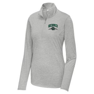 Greenwich Lightweight Tri-Blend 1/4 Zip Pullover- Ladies & Men's, 3 Colors