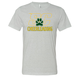 Siena Cheer Tri-Blend T-Shirt- 3 Colors, 2 Logo Options