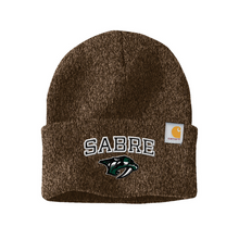 Load image into Gallery viewer, Schalmont Football Carhartt Fold-Over Beanie- 5 Colors