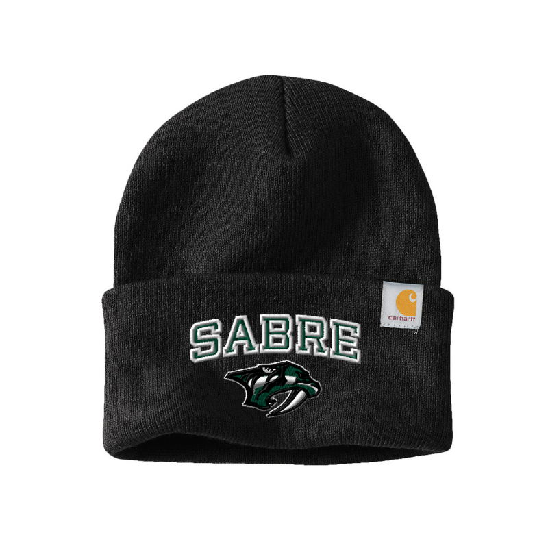 Schalmont Football Carhartt Fold-Over Beanie- 5 Colors