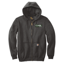 Load image into Gallery viewer, Clark Companies Midweight Full-Zip Hooded Sweatshirt- 3 Colors