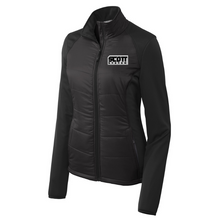 Load image into Gallery viewer, Anvil/Scott Hybrid Soft Shell Jacket- Ladies & Men's, 2 Colors, 2 Logo Options