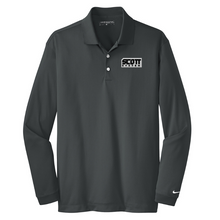 Load image into Gallery viewer, Anvil/Scott Nike Long Sleeve Performance Polo- Ladies & Men's, 2 Colors, 2 Logo Options