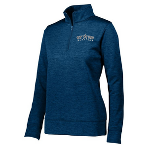 Saratoga Stars 1/4 Zip Heather Performance Pullover- Ladies & Men's, 3 Colors