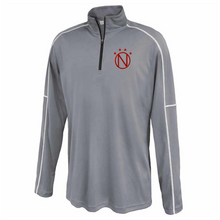 Load image into Gallery viewer, Niskayuna Soccer 1/4 Zip Performance Pullover- Youth, Ladies & Men's, 3 Colors