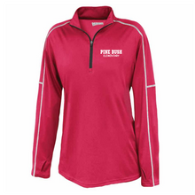 Load image into Gallery viewer, Pine Bush/Guilderland 1/4 Zip Performance Pullover- Youth, Ladies & Men's, 2 Colors, 2 Logo Options
