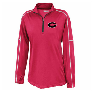 Pine Bush/Guilderland 1/4 Zip Performance Pullover- Youth, Ladies & Men's, 2 Colors, 2 Logo Options