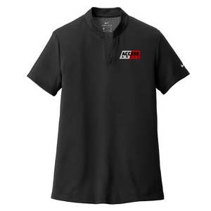 Anvil/Scott Nike Textured Performance Polo- 2 Colors, 2 Logo Options