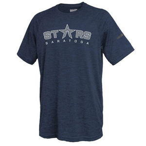 Saratoga Stars Space-Dye Performance Tee- Youth & Adult, 2 Colors