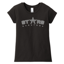 Load image into Gallery viewer, Saratoga Stars Girls Tri-blend T-shirt- 3 Colors