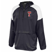 Load image into Gallery viewer, Tamarac Baseball Colorblock Hooded 1/4 Zip- Youth & Adult, 3 Colors