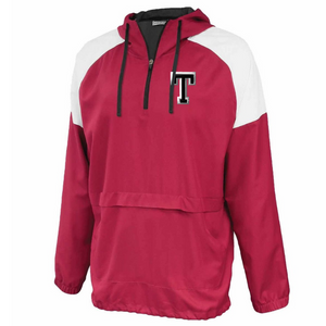 Tamarac Baseball Colorblock Hooded 1/4 Zip- Youth & Adult, 3 Colors