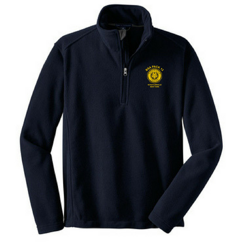 BSA Pack 13 1/4 Zip Fleece