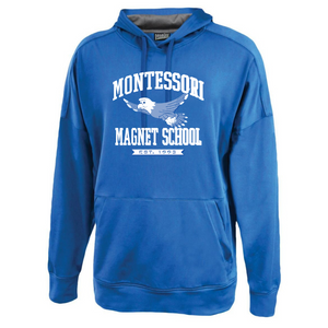 Montessori Mid-Weight Solid Performance Hoodie- Youth & Adult, 2 Colors