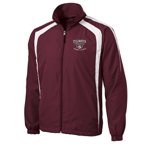 Stillwater Track & Field Two Tone Full Zip Jacket- Youth & Adult, 2 Colors