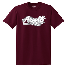 Load image into Gallery viewer, Argyle Softball Cotton Tee- Youth & Adult, 3 Colors