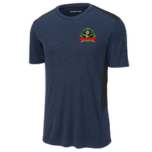 Load image into Gallery viewer, Camp Wakpominee Heather Colorblock Performance Tee