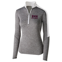 Load image into Gallery viewer, BHBL Field Hockey Heather Lightweight 1/4 Zip Pullover- Youth, Ladies, & Men's, 2 Colors
