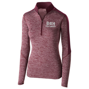 BHBL Field Hockey Heather Lightweight 1/4 Zip Pullover- Youth, Ladies, & Men's, 2 Colors