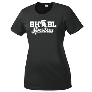 BHBL Spartans Performance T-Shirt- Youth, Ladies, & Men's, 3 Colors
