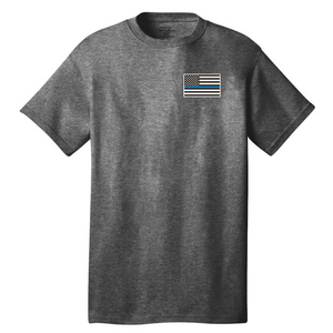 Short Sleeve Cotton Tee- Youth & Adult, 5 Colors, 3 Logo Options
